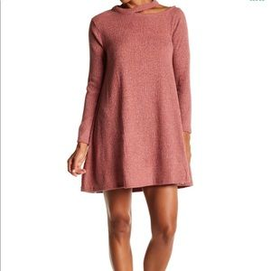 Dresses & Skirts - Pink A-Line Sweater Dress